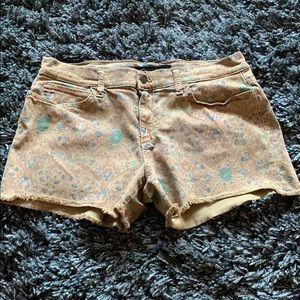 Women's Joe's burnt brown floral shorts size 32